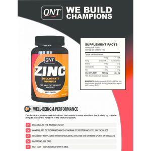 QNT CHELATED ZINC 100caps