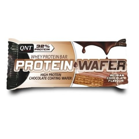 QNT PROTEIN WAFER BAR 35gr Chocolate 12τμχ