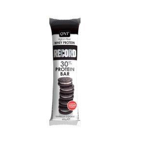 QNT RECORD 30% PROTEIN BAR Vanillia Cookie