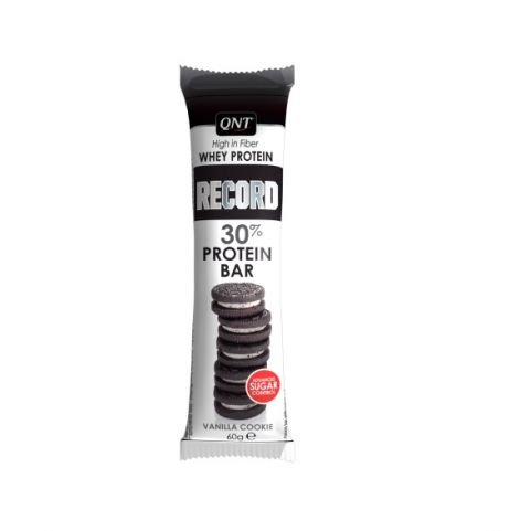 QNT RECORD 30% PROTEIN BAR Vanillia Cookie