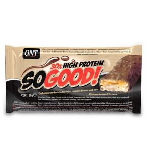 QNT SO GOOD PROTEIN BAR Choco Caramel