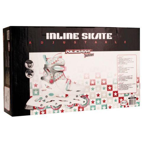 Nijdam Inline Skate Junior ρυθμιζόμενα 52SA-WAF