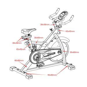Viking Ποδήλατο Γυμναστικής  V-1500 Spin Bike