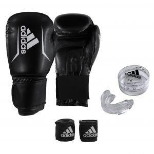 Adidas Σετ Πυγμαχίας ADIBPKIT01 (Γάντια, Μασέλα, Μπαντάζ)