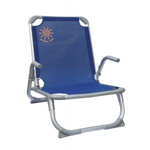 Summer Club Καρέκλα Παραλίας Αλουμινίου με ενίσχυση 19383