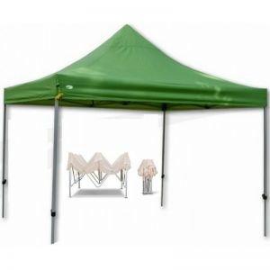 Gazebo Κιόσκι Polyester 3Χ3 Πτυσσόμενο TH 10004 Πράσινο