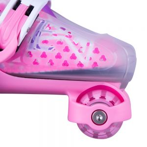 Insportline Darly Girl Παιδικό Σετ Skate με προστατευτικά IS13787