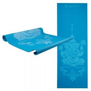 Insportline Στρώμα Yoga με θήκη μεταφοράς 172 x 61cm IS1172 Μπλε