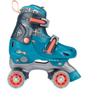 Nijdam Roller Skates Junior Adjustable Hard Boot Disco Twirl 52QN-TAO