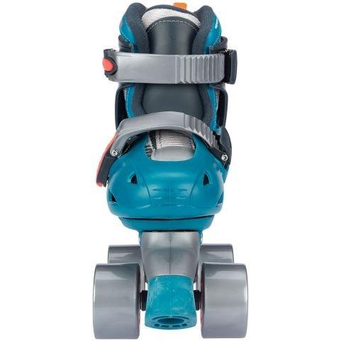 Nijdam Roller Skates Junior Adjustable Hard Boot Disco Twirl 52QN-TAO
