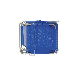 Summer Club Ξαπλώστρα Μεταλλική Textilene Blue 19352