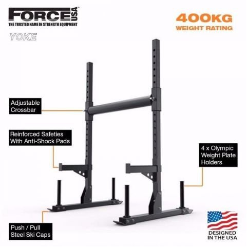 Force USA Βάση Squat & Yoke Combo