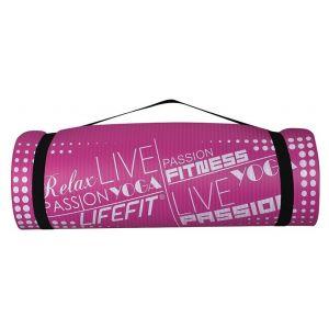Life Fit Στρώμα γυμναστηρίου NBR Mat Exclusive C01-07 180 x 60cm Φούξια
