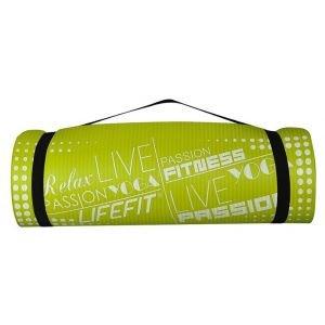 Life Fit Στρώμα γυμναστηρίου NBR Mat Exclusive C01-01 180 x 60cm Πράσινο