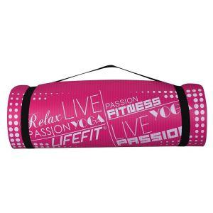 Life Fit Στρώμα γυμναστηρίου NBR Mat Exclusive C01-03 180 x 60cm Ροζ