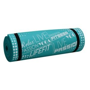 Life Fit Στρώμα γυμναστηρίου NBR Mat Exclusive C01-04 180 x 60cm Τυρκουάζ