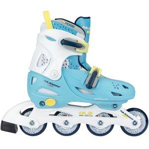 Nijdam Inline Quads Roller Skate ρυθμιζόμενα 52SH-LWG
