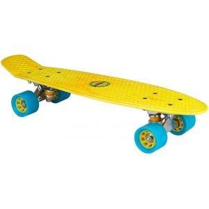 """Nijdam Skateboard Πλαστικό 22.5"""" Κίτρινο 52NO"""