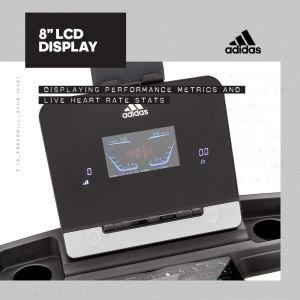 Adidas T‑19 Hλεκτρικός Διάδρομος Γυμναστικής 3.5HP