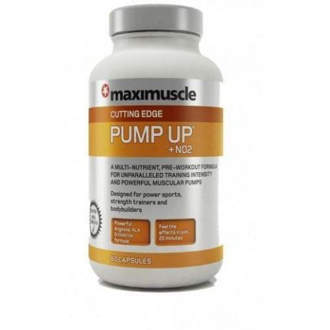 Maximuscle Pump Up NO2 60caps