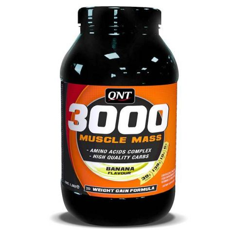 QNT Perfect Weight Gain 3000 Muscle Mass 1.3kg