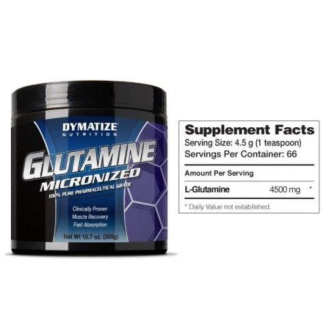 Dymatize GLUTAMINE MICRONIZED 300 gr
