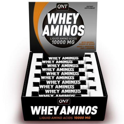 QNT WHEY AMINOS 10.000 MG 20x30 ml ΚΟΚ.ΦΡΟΥΤΑ