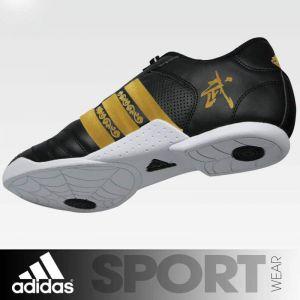 Wu-Shu Shoes adidas Black - Golden Stripes