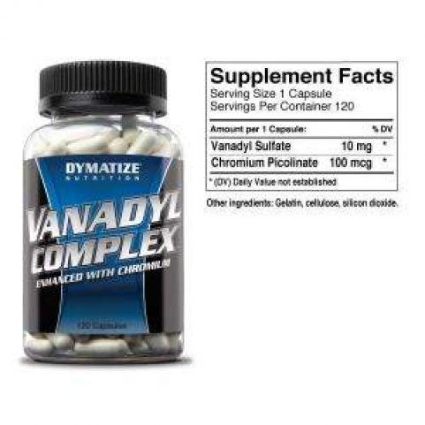 Dymatize VANADYL COMPLEX 120tabs