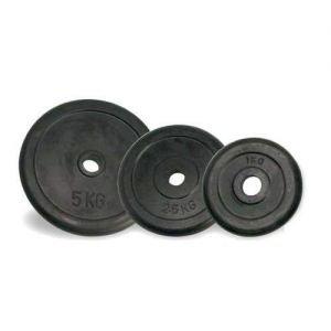 Power Force Δίσκοι άρσης βαρών 1kg  λάστιχο PF-13