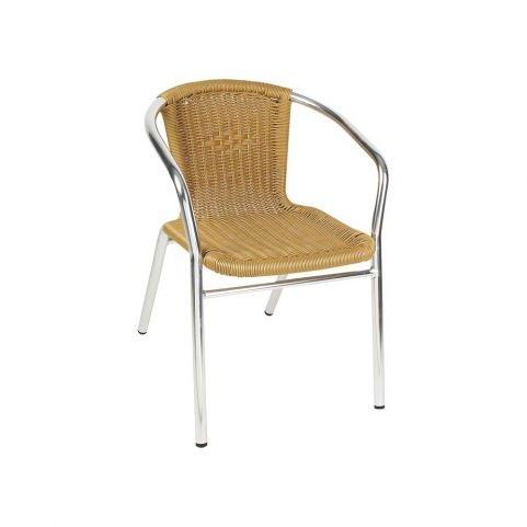 Καρέκλα Αλουμινίου με Συνθετικό Rattan