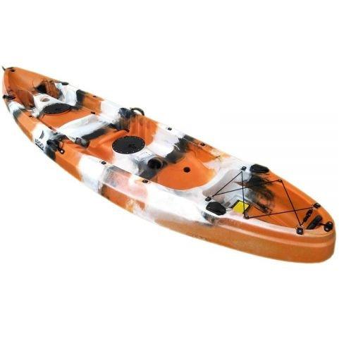 Argo Καγιάκ Poseidon SOT Full 2+1 Ατόμων Πορτοκαλί