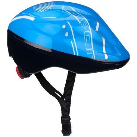 Nijdam Κράνος παιδικό για Πατίνια/Skateboard 52-56cm Μπλε 75CZ-BWG